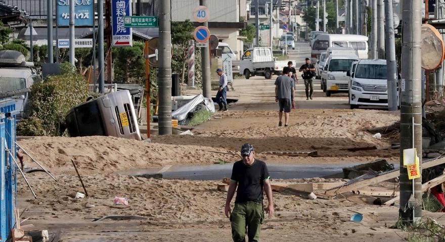 Japonya'daki sel felaketinde ölü sayısı 112'ye yükseldi 1