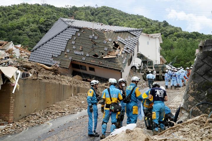Japonya'daki sel felaketinde ölü sayısı 112'ye yükseldi 2
