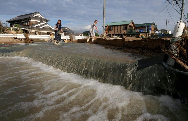 Japonya'daki sel felaketinde ölü sayısı 112'ye yükseldi 7