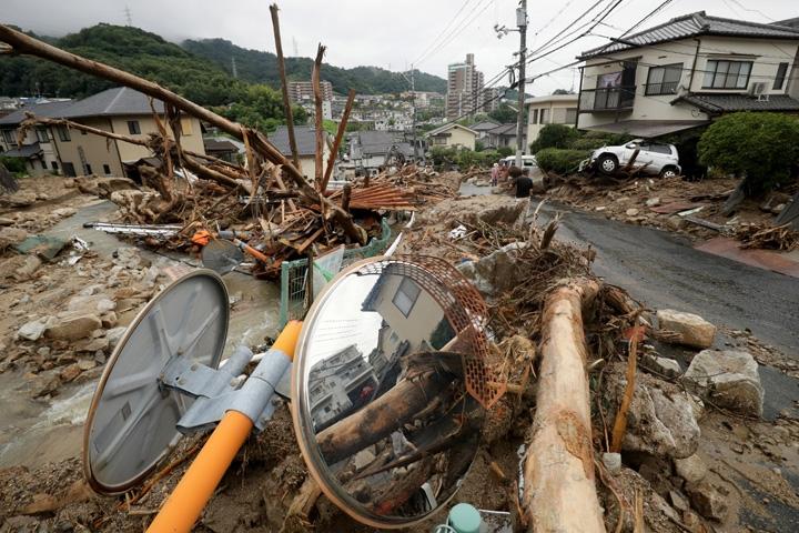 Japonya'daki sel felaketinde ölü sayısı 112'ye yükseldi 8