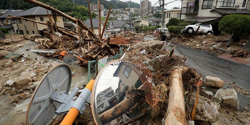 Japonya'daki sel felaketinde ölü sayısı 112'ye yükseldi