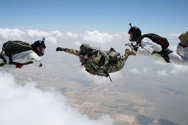 Özel Kuvvetlere paraşüt eğitimi 6