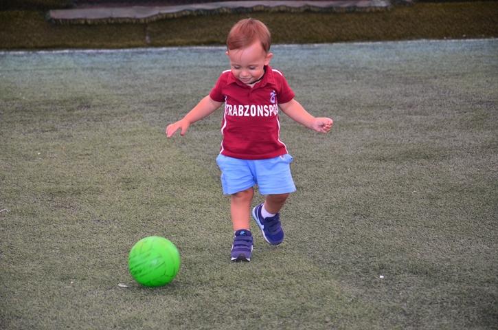 Dünyanın en genç transferi 'Bordo' çalışmalara başladı 11