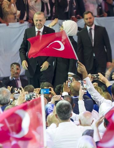 AK Parti kongresine damga vurdu! 2