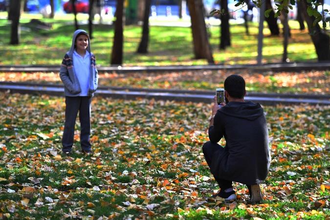 Ankara'da sonbahar bir başka güzel 4