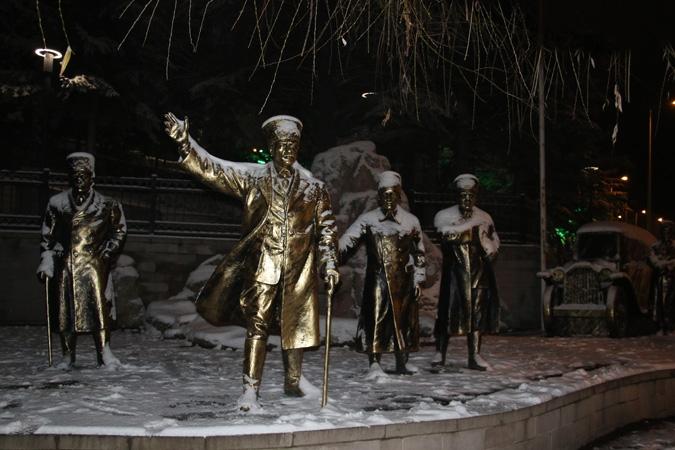 Ankara'da kartpostallık kar manzaraları 10