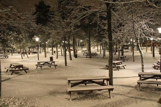 Ankara'da kartpostallık kar manzaraları 12