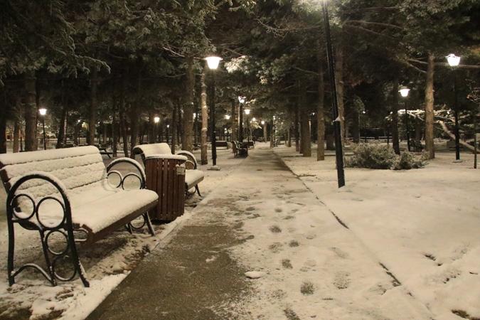 Ankara'da kartpostallık kar manzaraları 2