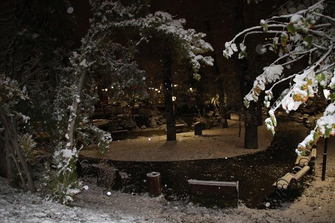 Ankara'da kartpostallık kar manzaraları 5