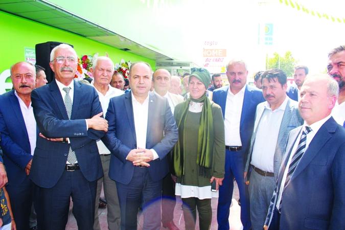 AYBİMAŞ TANZİM Ankara Mamak'ta 8. şubesini açtı 2