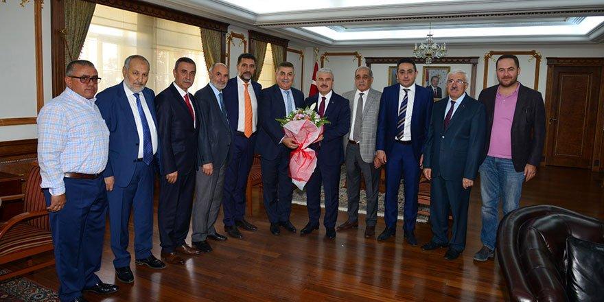 Kırşehirli Dernekler Federasyonu ve Kırşehirliler Vakfı'ndan Kırşeh