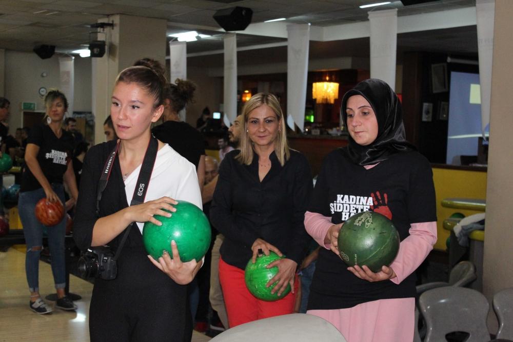 Kadına güç ve moral veren Bowling Turnuvası 17