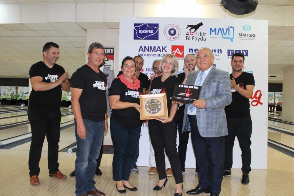 Kadına güç ve moral veren Bowling Turnuvası 18