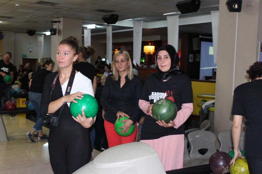 Kadına güç ve moral veren Bowling Turnuvası 22