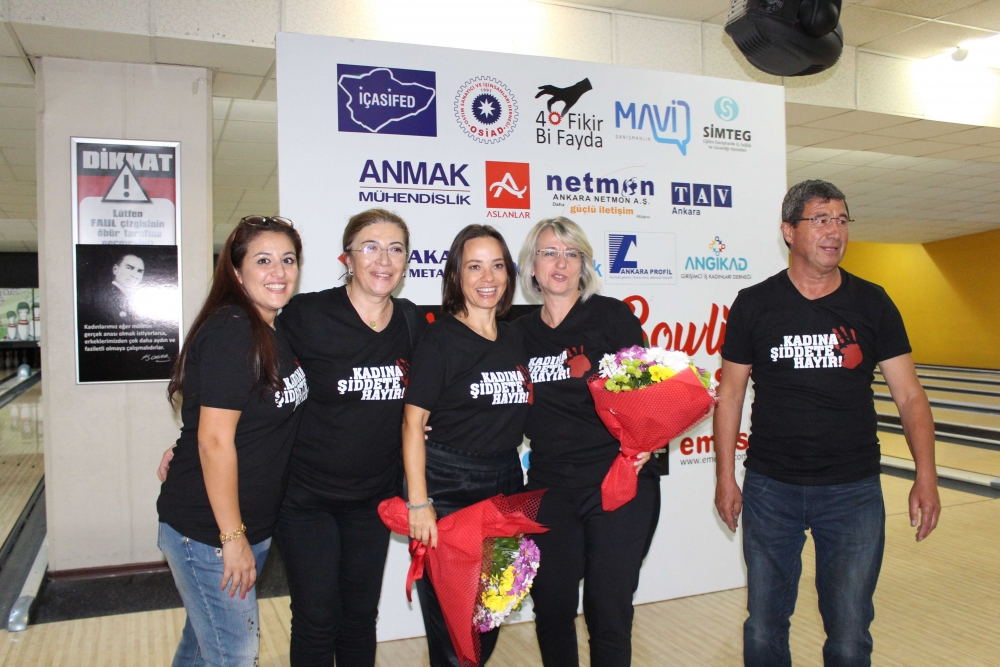 Kadına güç ve moral veren Bowling Turnuvası 24