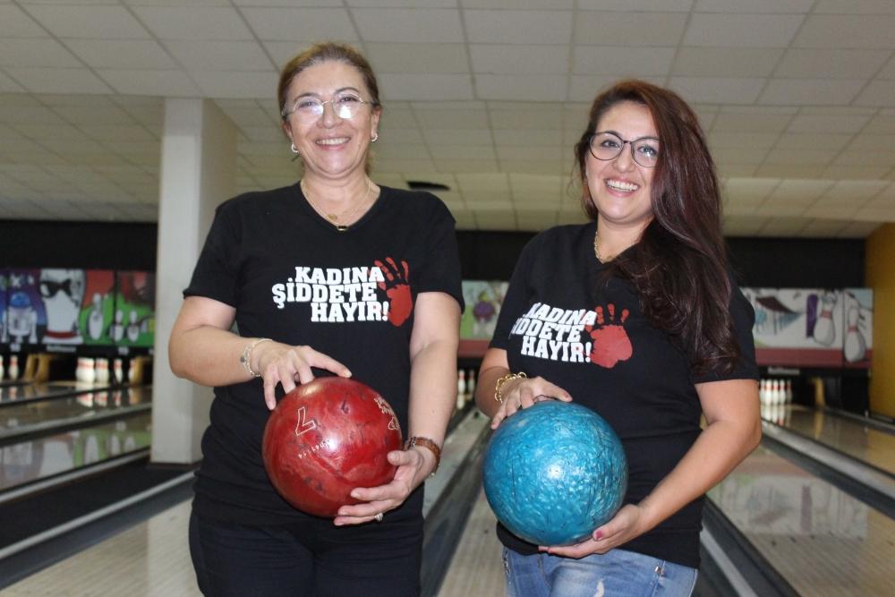 Kadına güç ve moral veren Bowling Turnuvası 35