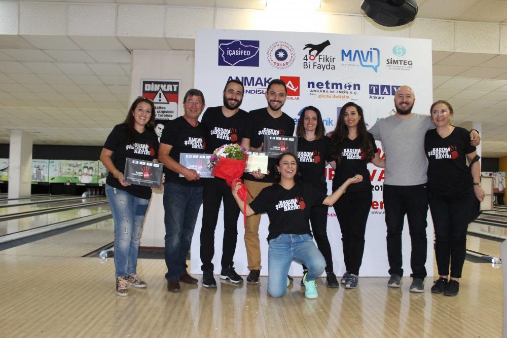 Kadına güç ve moral veren Bowling Turnuvası 36