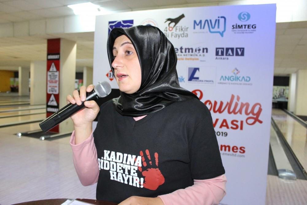Kadına güç ve moral veren Bowling Turnuvası 9