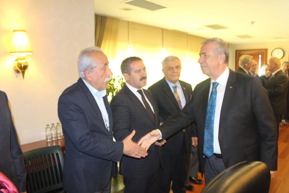 Başkent Ankara Meclisi'nden Mansur Yavaş'a ziyaret 1