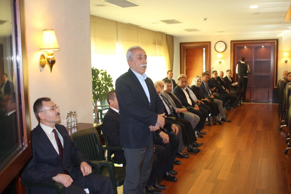 Başkent Ankara Meclisi'nden Mansur Yavaş'a ziyaret 10