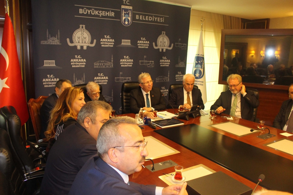 Başkent Ankara Meclisi'nden Mansur Yavaş'a ziyaret 11