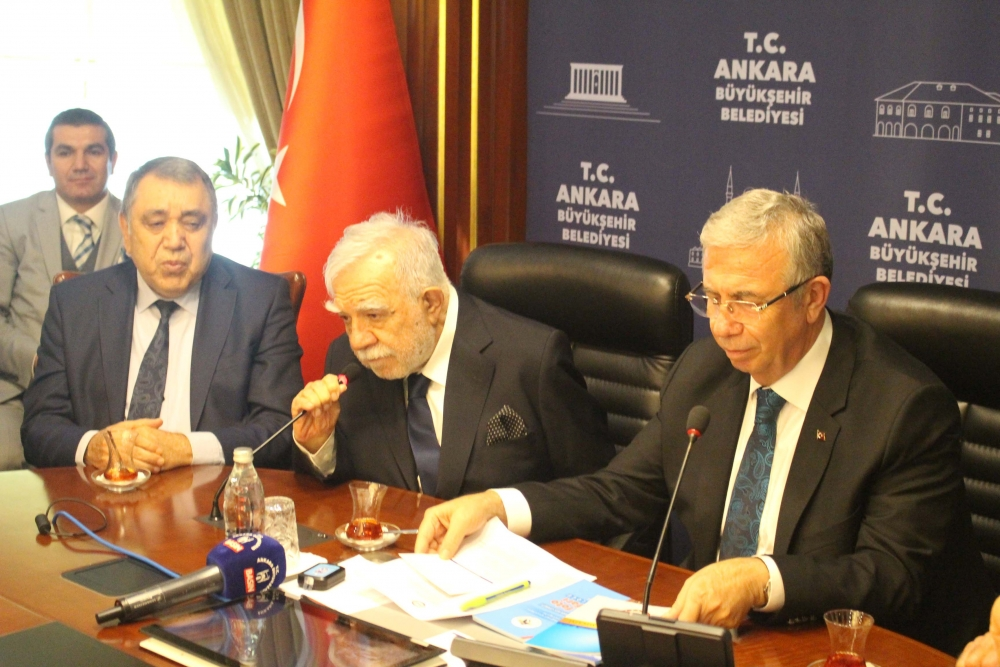Başkent Ankara Meclisi'nden Mansur Yavaş'a ziyaret 12