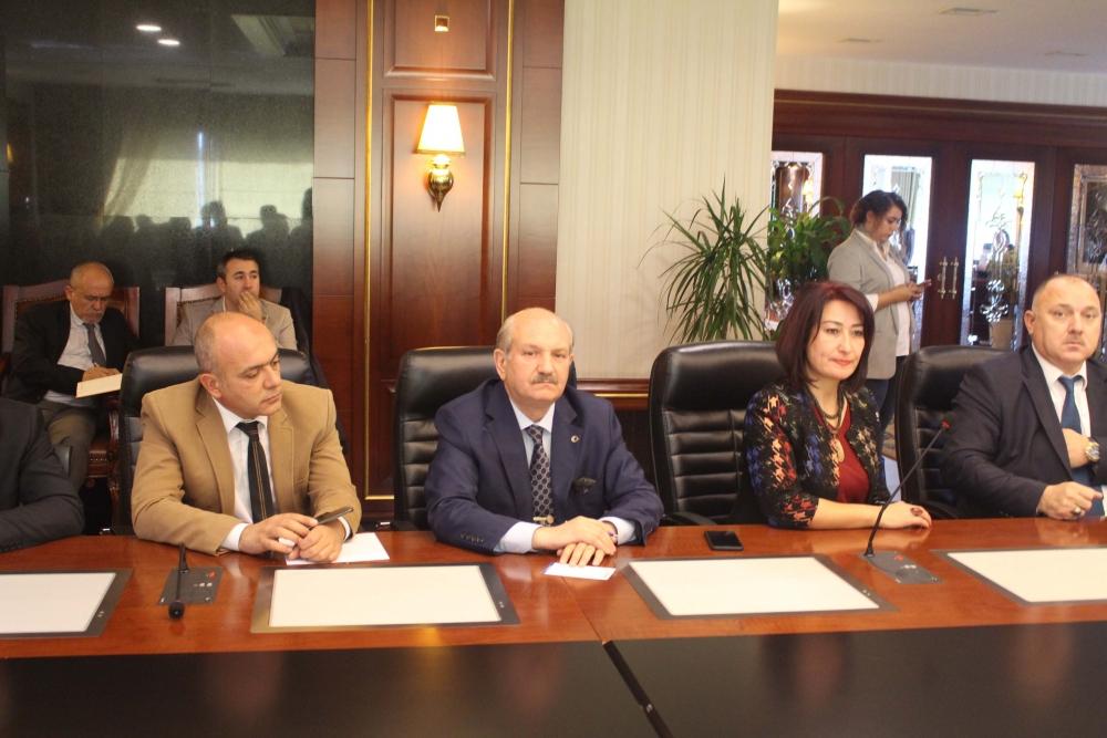 Başkent Ankara Meclisi'nden Mansur Yavaş'a ziyaret 18