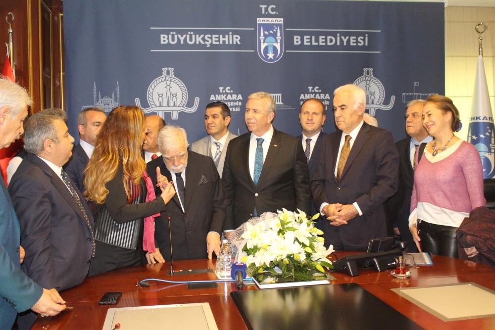 Başkent Ankara Meclisi'nden Mansur Yavaş'a ziyaret 2