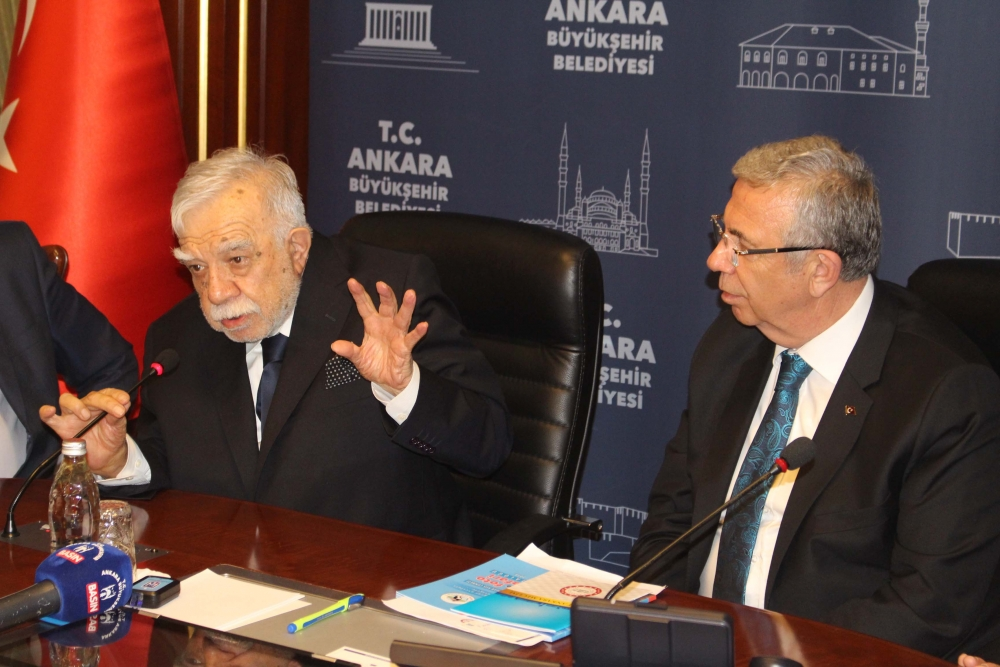 Başkent Ankara Meclisi'nden Mansur Yavaş'a ziyaret 23