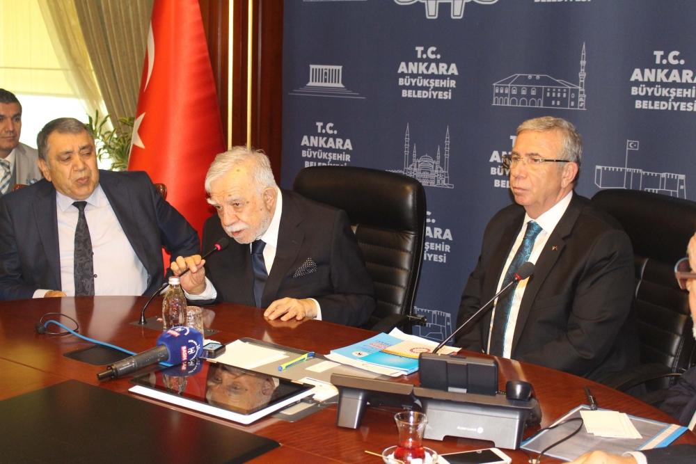 Başkent Ankara Meclisi'nden Mansur Yavaş'a ziyaret 27