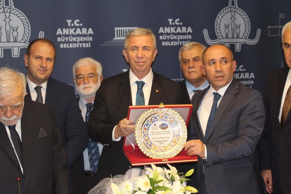 Başkent Ankara Meclisi'nden Mansur Yavaş'a ziyaret 28