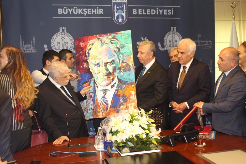 Başkent Ankara Meclisi'nden Mansur Yavaş'a ziyaret 30