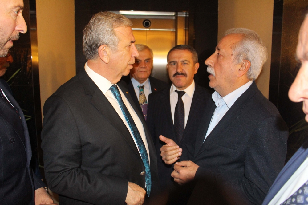 Başkent Ankara Meclisi'nden Mansur Yavaş'a ziyaret 33