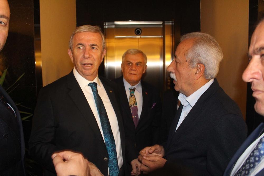 Başkent Ankara Meclisi'nden Mansur Yavaş'a ziyaret 34