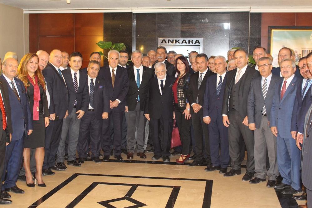 Başkent Ankara Meclisi'nden Mansur Yavaş'a ziyaret 36