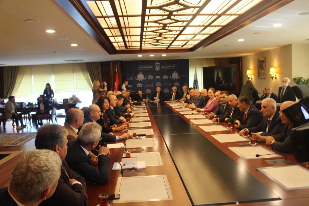 Başkent Ankara Meclisi'nden Mansur Yavaş'a ziyaret 6