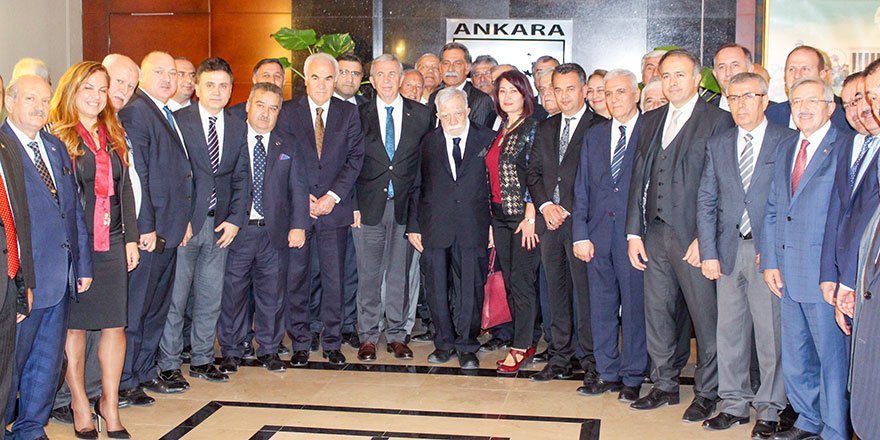 Başkent Ankara Meclisi'nden Mansur Yavaş'a ziyaret