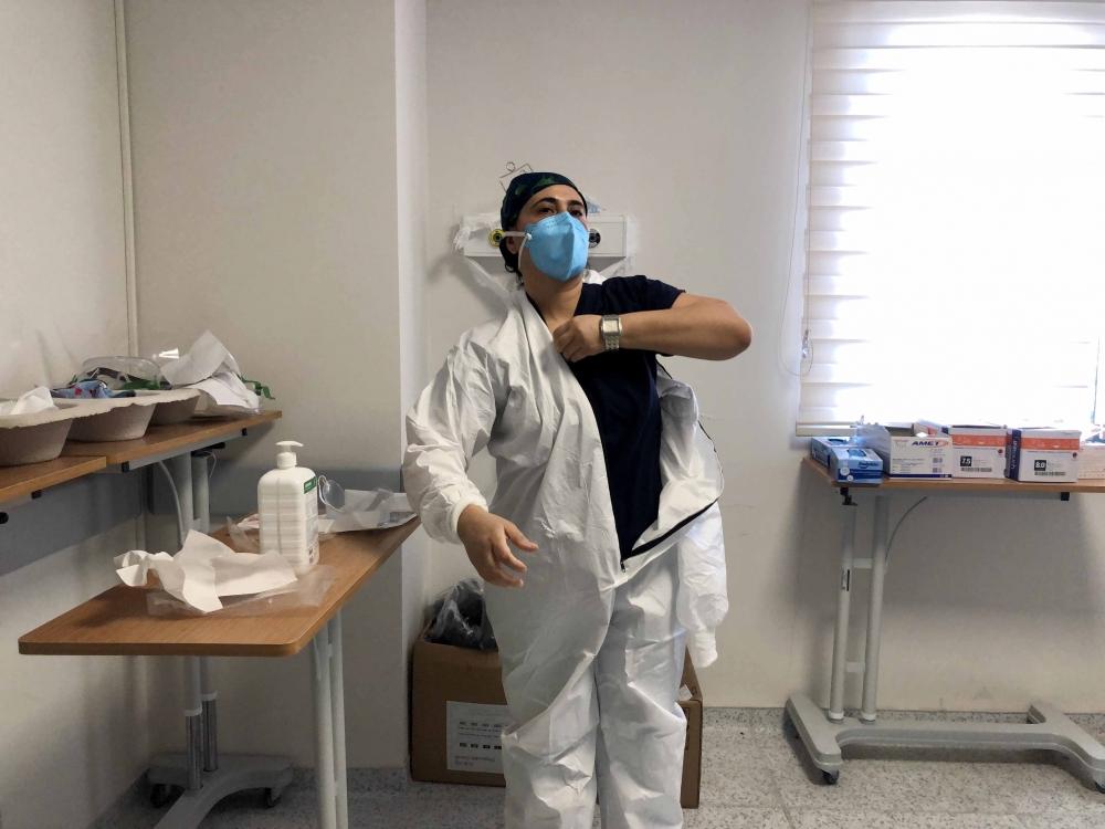 Korona hastaları bu yoğun bakımda tedavi ediliyor 1