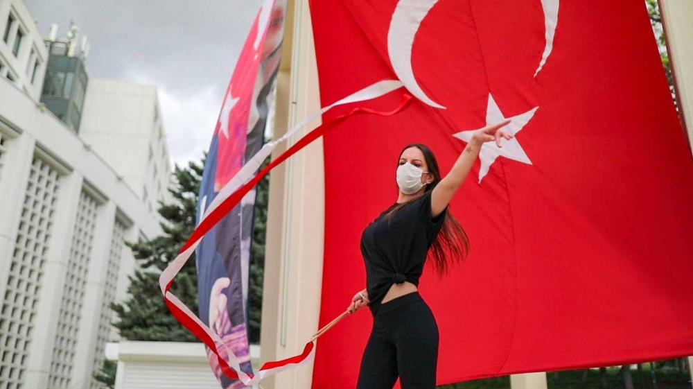 Ankaralı dansçılar Atatürk için dans etti 1
