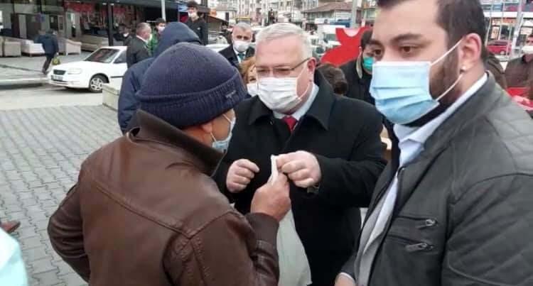 CHP Ankara'da halka Çanakkale Savaşı menüsü dağıtımı yaptı 1