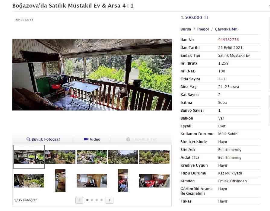 Bu köydeki ev fiyatları lüks semtlerle yarışıyor 1