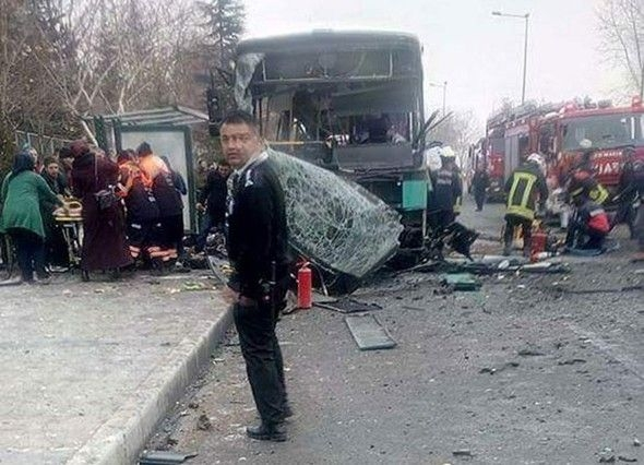 KAYSERİ'DEKİ PATLAMADAN FOTOĞRAFLAR 5
