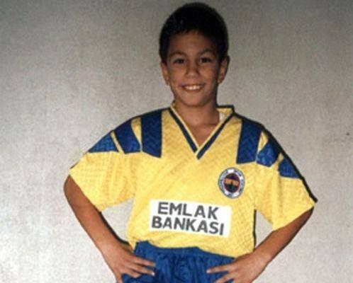 Futbolcuların küçüklük fotoğrafları şaşırttı 14