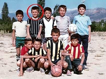 Futbolcuların küçüklük fotoğrafları şaşırttı 6