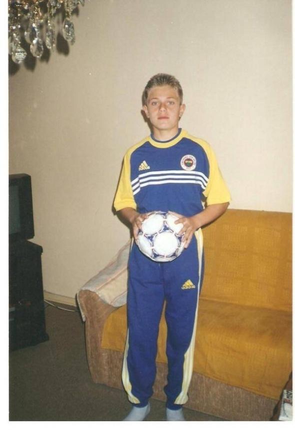 Futbolcuların küçüklük fotoğrafları şaşırttı 8
