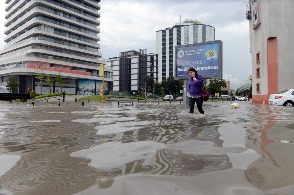 İstanbul'dan sel manzaraları 2