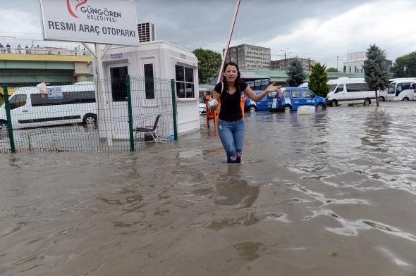 İstanbul'dan sel manzaraları 3