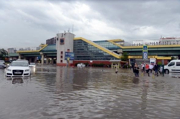 İstanbul'dan sel manzaraları 4