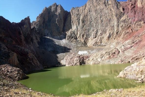 Cilo-Sat Dağlarında iki yeni buzul gölü keşfedildi 1