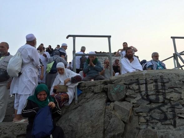 Hacıların Hira mağarası heyecanı 7